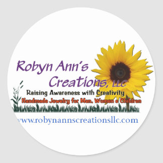 Robyn Ann s Creations LLC Round Stickers