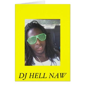 roc3, DJ HELL NAW Card