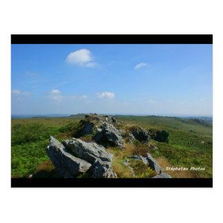 Roc' H Trédudon Mounts of Arées BRITTANY FRANCE Postcard