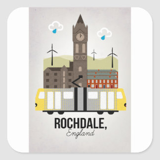 Rochdale Square Sticker