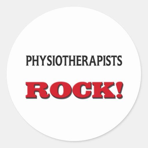 Roche de physiothérapeutes adhésif