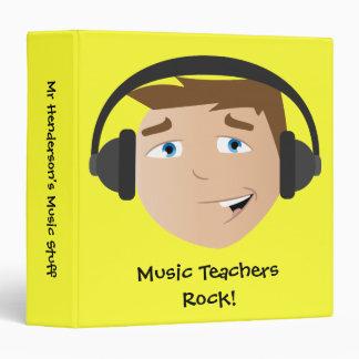 Roche de professeurs de musique ! classeur 3 anneaux