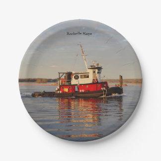 Rochelle Kaye paper plate