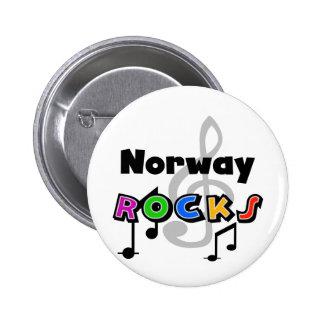 Roches de la Norvège Macaron Rond 5 Cm