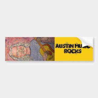 roches de musique d'Austin Autocollant De Voiture