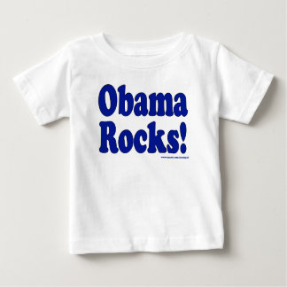 Roches d'Obama T-shirt Pour Bébé