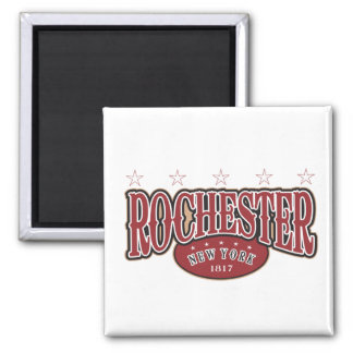 Rochester 1817 square magnet