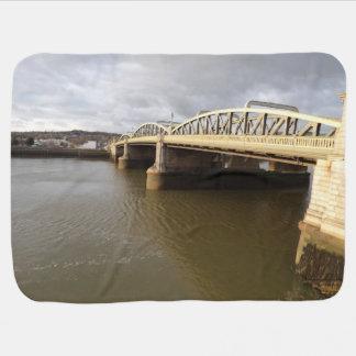 Rochester Bridge Baby Blanket
