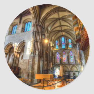 Rochester Cathedral Classic Round Sticker