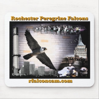 Rochester falcons mousepad