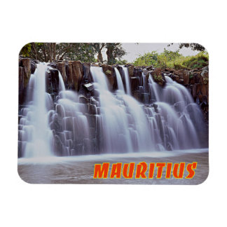 Rochester Falls, Mauritius Rectangular Photo Magnet