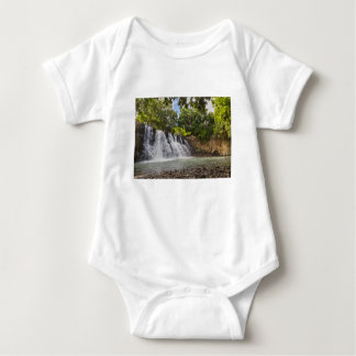 Rochester Falls waterfall in Souillac Mauritius Baby Bodysuit