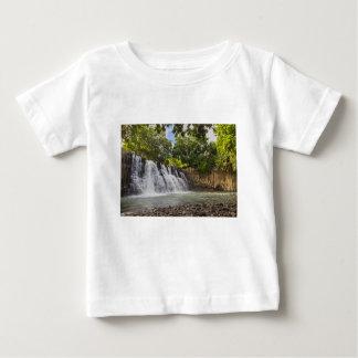 Rochester Falls waterfall in Souillac Mauritius Baby T-Shirt