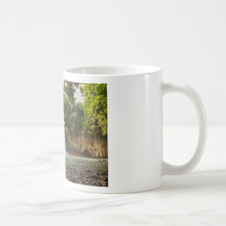 Rochester Falls waterfall in Souillac Mauritius Coffee Mug