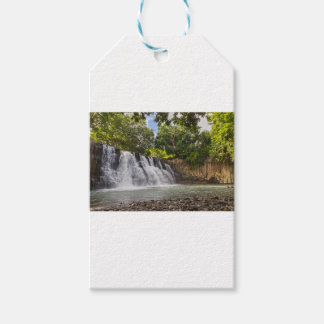 Rochester Falls waterfall in Souillac Mauritius Gift Tags
