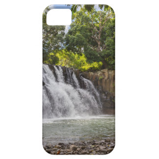 Rochester Falls waterfall in Souillac Mauritius iPhone 5 Cover