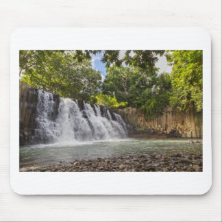 Rochester Falls waterfall in Souillac Mauritius Mouse Pad