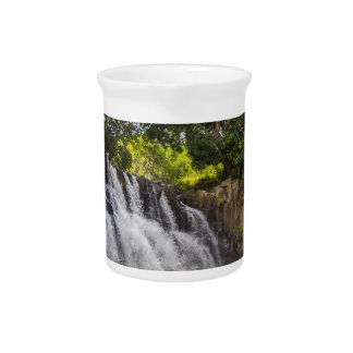 Rochester Falls waterfall in Souillac Mauritius Pitcher