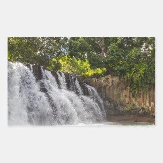 Rochester Falls waterfall in Souillac Mauritius Sticker