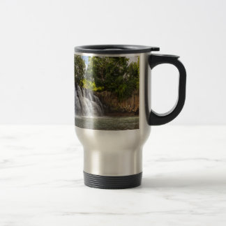 Rochester Falls waterfall in Souillac Mauritius Travel Mug