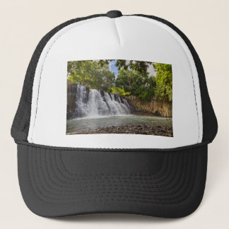 Rochester Falls waterfall in Souillac Mauritius Trucker Hat