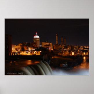 Rochester    'High Falls' Poster