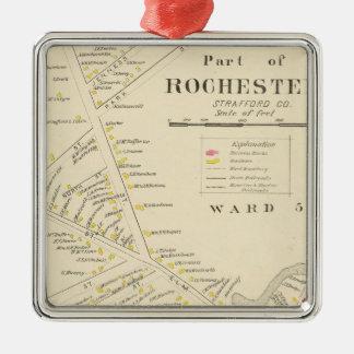 Rochester Metal Ornament