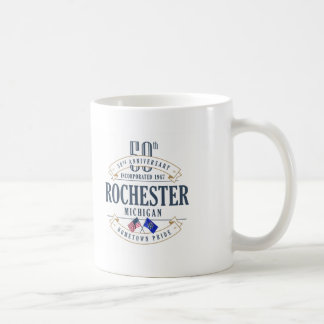 Rochester, Michigan 50th Anniversary Mug