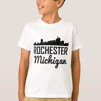 Rochester Michigan Skyline T-Shirt