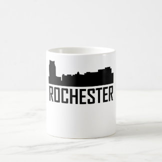 Rochester Minnesota City Skyline Coffee Mug