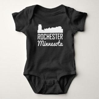 Rochester Minnesota Skyline Baby Bodysuit