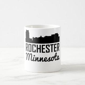 Rochester Minnesota Skyline Coffee Mug