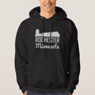Rochester Minnesota Skyline Hoodie