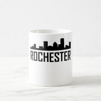 Rochester New York City Skyline Coffee Mug