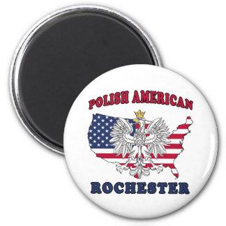Rochester New York Polish 2 Inch Round Magnet