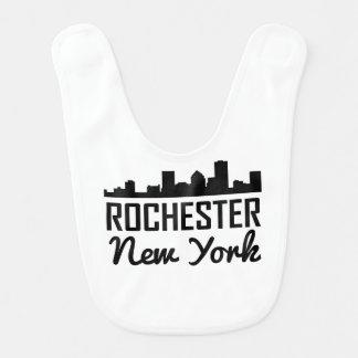 Rochester New York Skyline Bib