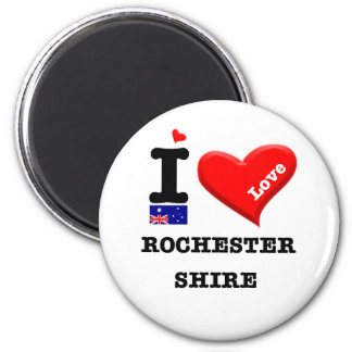 ROCHESTER SHIRE - I Love Magnet