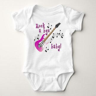 Rock A Bye Baby Pink Baby Bodysuit