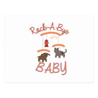 Rock A Bye Baby Postcard