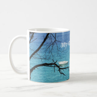 Rock-a-bye blue By MaddyLane, Coff... - Customized Coffee Mug
