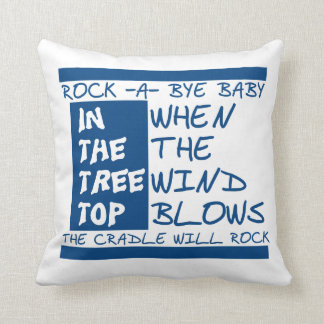 Rock a bye pillow
