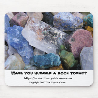Rock and Crystal Mousepad