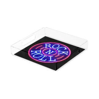 Rock and Roll Acrylic Tray