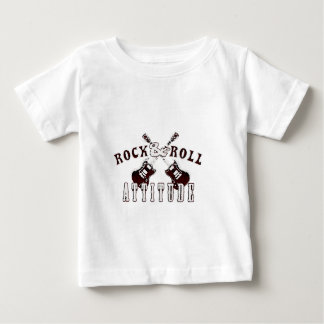 Rock and roll attitude baby T-Shirt