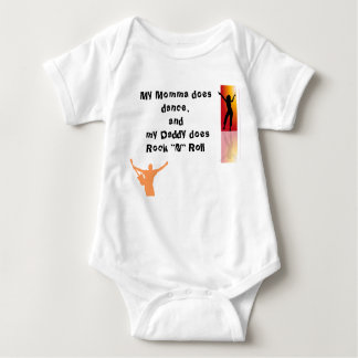 Rock and Roll Baby Bodysuit