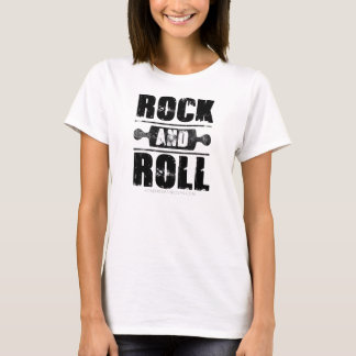 Rock And Roll Baking Shirt - Black Print