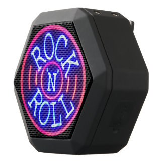 Rock and Roll Black Bluetooth Speaker