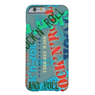 rock and roll cool barely there iPhone 6 case