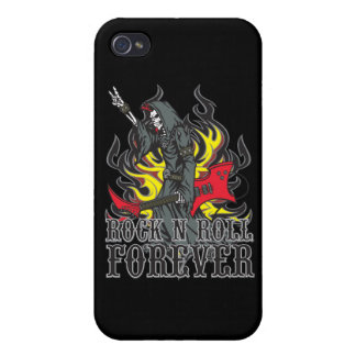 Rock and Roll Forever iPhone 4 Cover