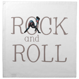 ROCK AND ROLL FULL CHEST CLOTH NAPKIN